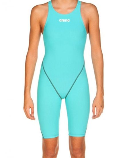 Arena Girls' Powerskin ST 2.0 – Aquamarine – FINA approved