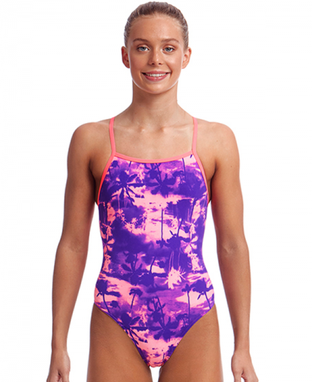 Funkita Girls Strapped In One Piece – Eternal Summer