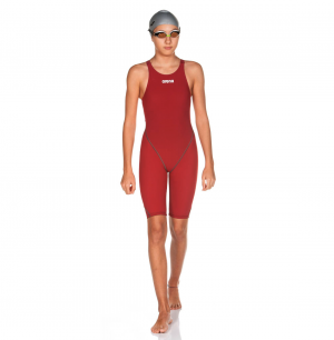 Girls Arena Powerskin ST 2.0 Deep Red